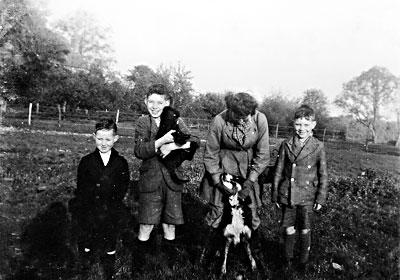 Regis boys from Blickling Mill House - November 1942