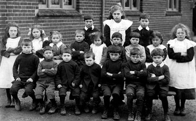 c.1912 School class photo