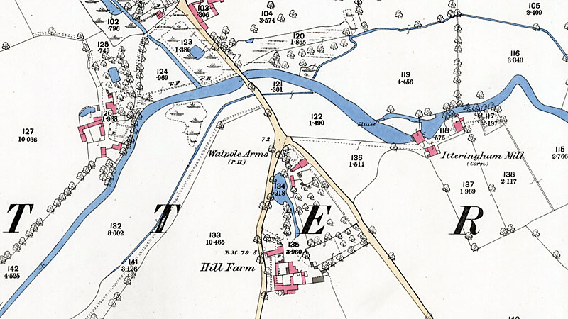O. S. Map 1885